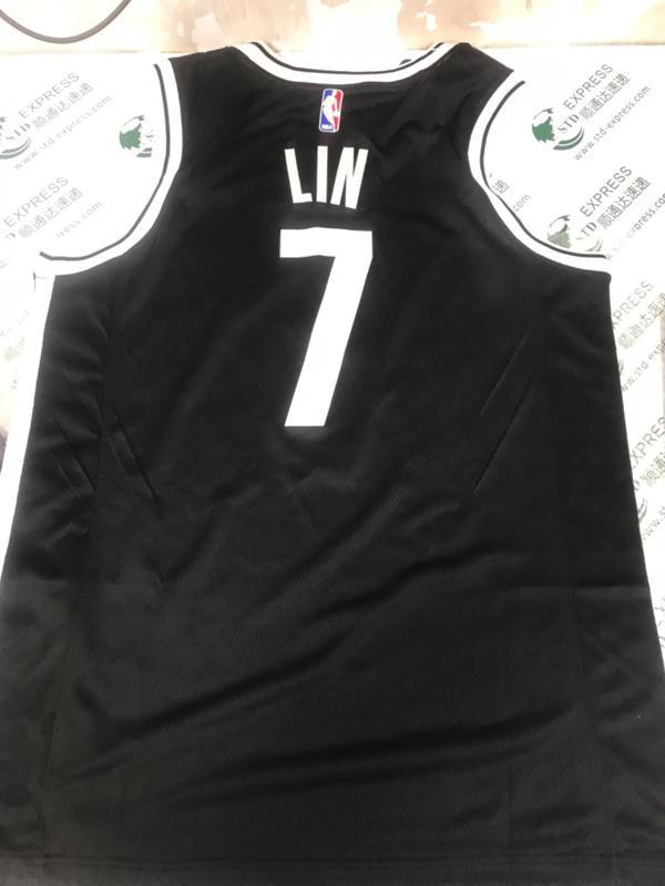 Jeremy Lin 7 Brooklyn Nets adidas Replica Black 5