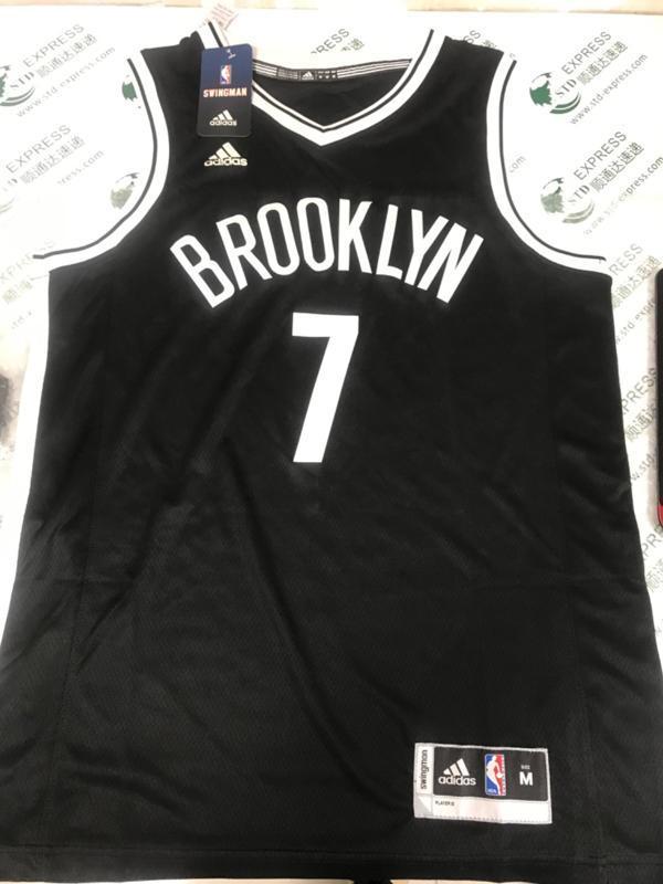 Jeremy Lin 7 Brooklyn Nets adidas Replica Black 6