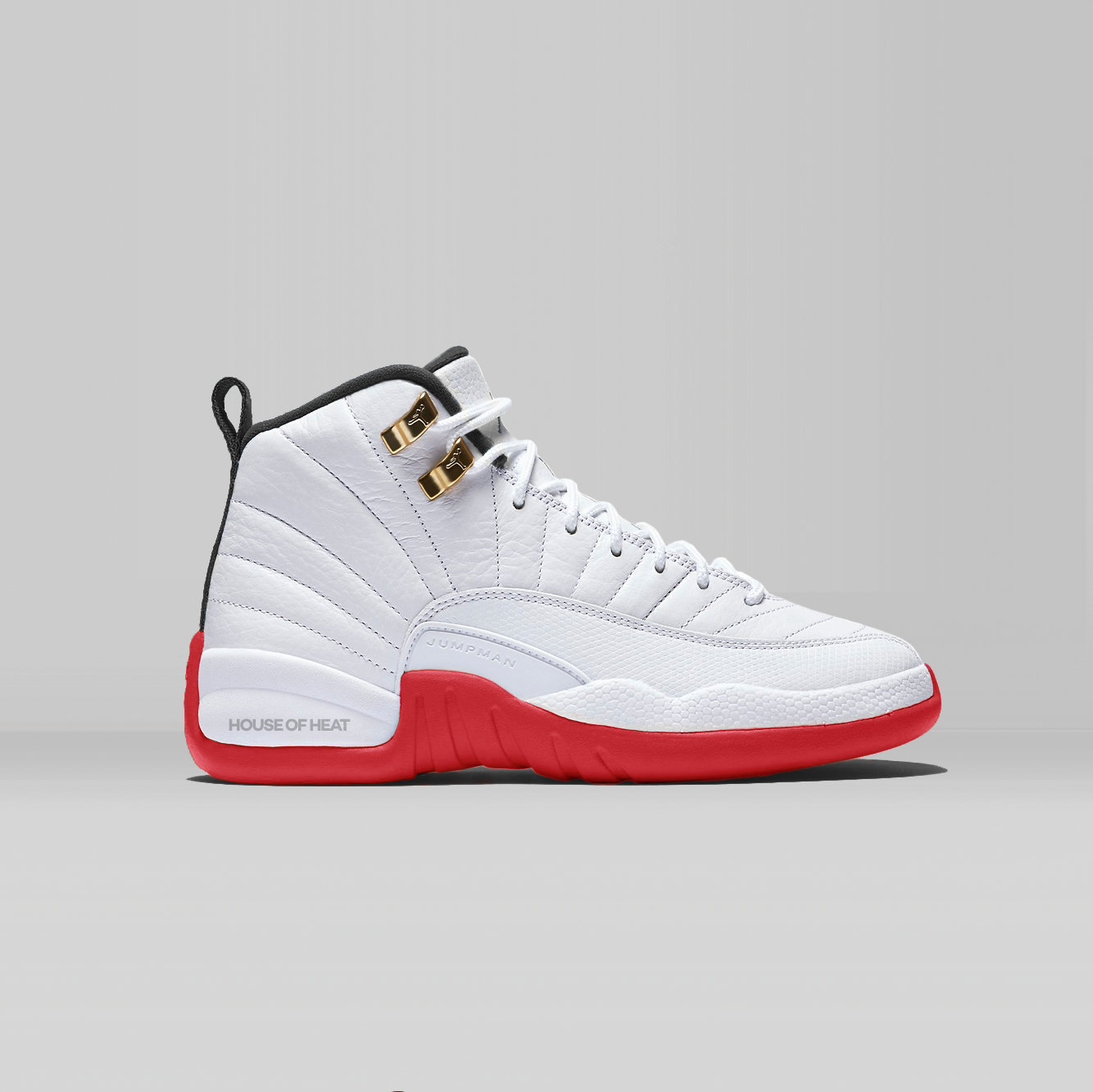 Концепт Лаборатории House of Heat: Air Jordan 12 «Инфракрасный»