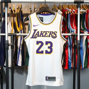 2018-19 Lebron James Lakers #23 Association White