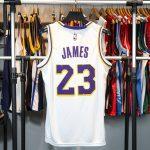 2018-19 Lebron James Lakers #23 Association White-2