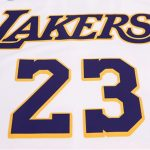 2018-19 Lebron James Lakers #23 Association White-5