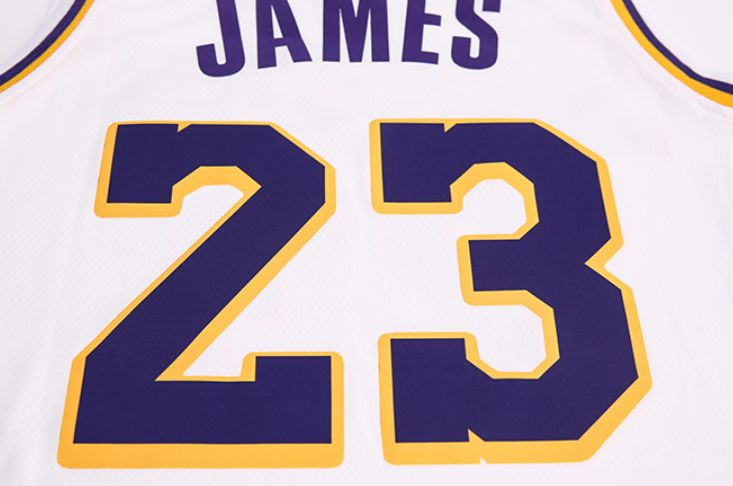 2018-19 Lebron James Lakers #23 Association White