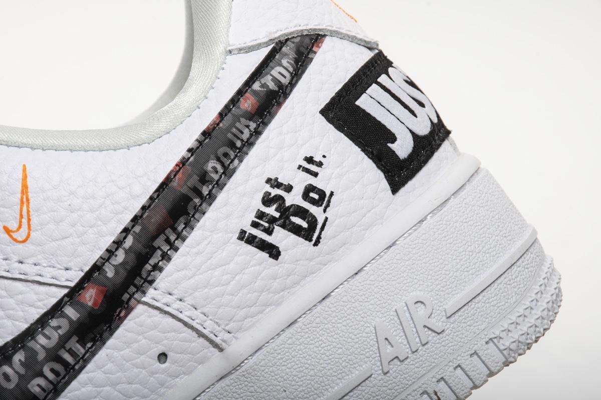 Заказать поиск кроссовок Air Force 1 Low Just Do It Pack White Black