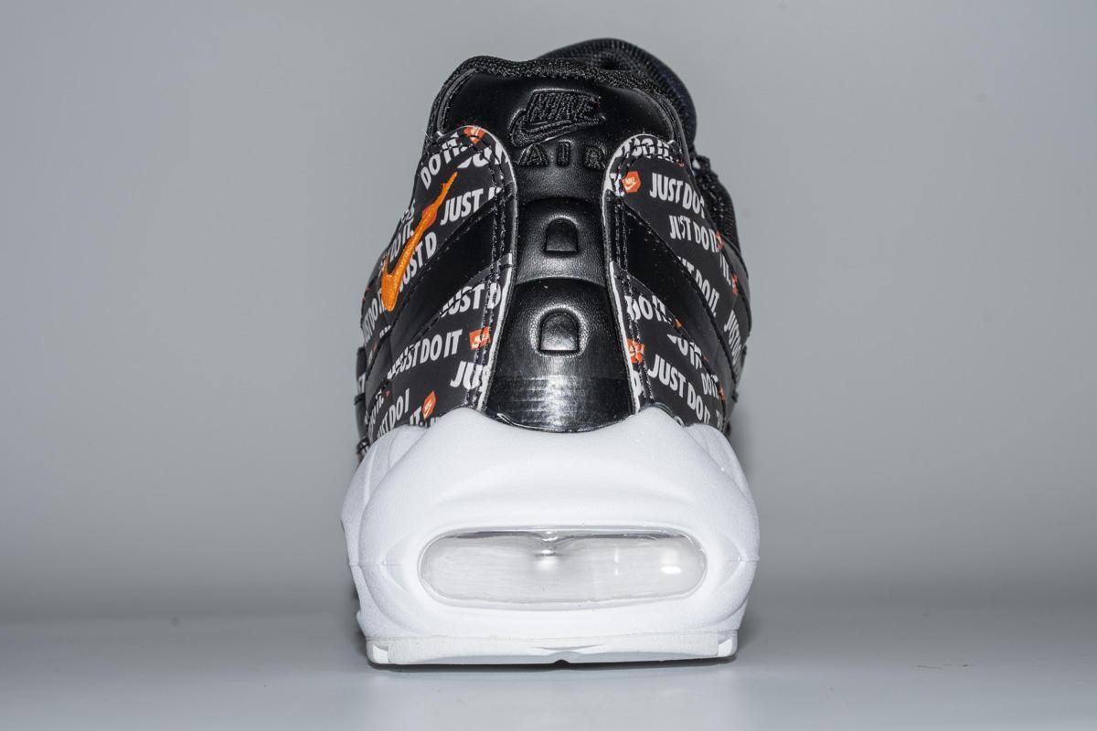 Купить кроссовки Air Max 95 Just Do It Pack Black с подарком