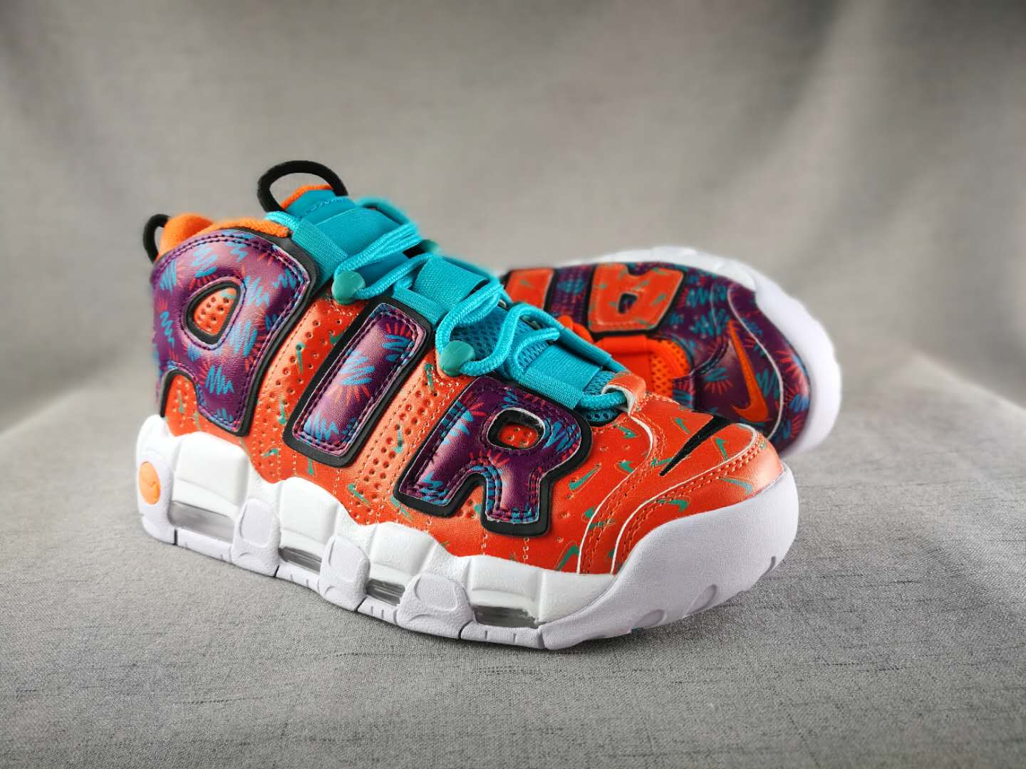 Air More Uptempo What The 90s (GS)-4