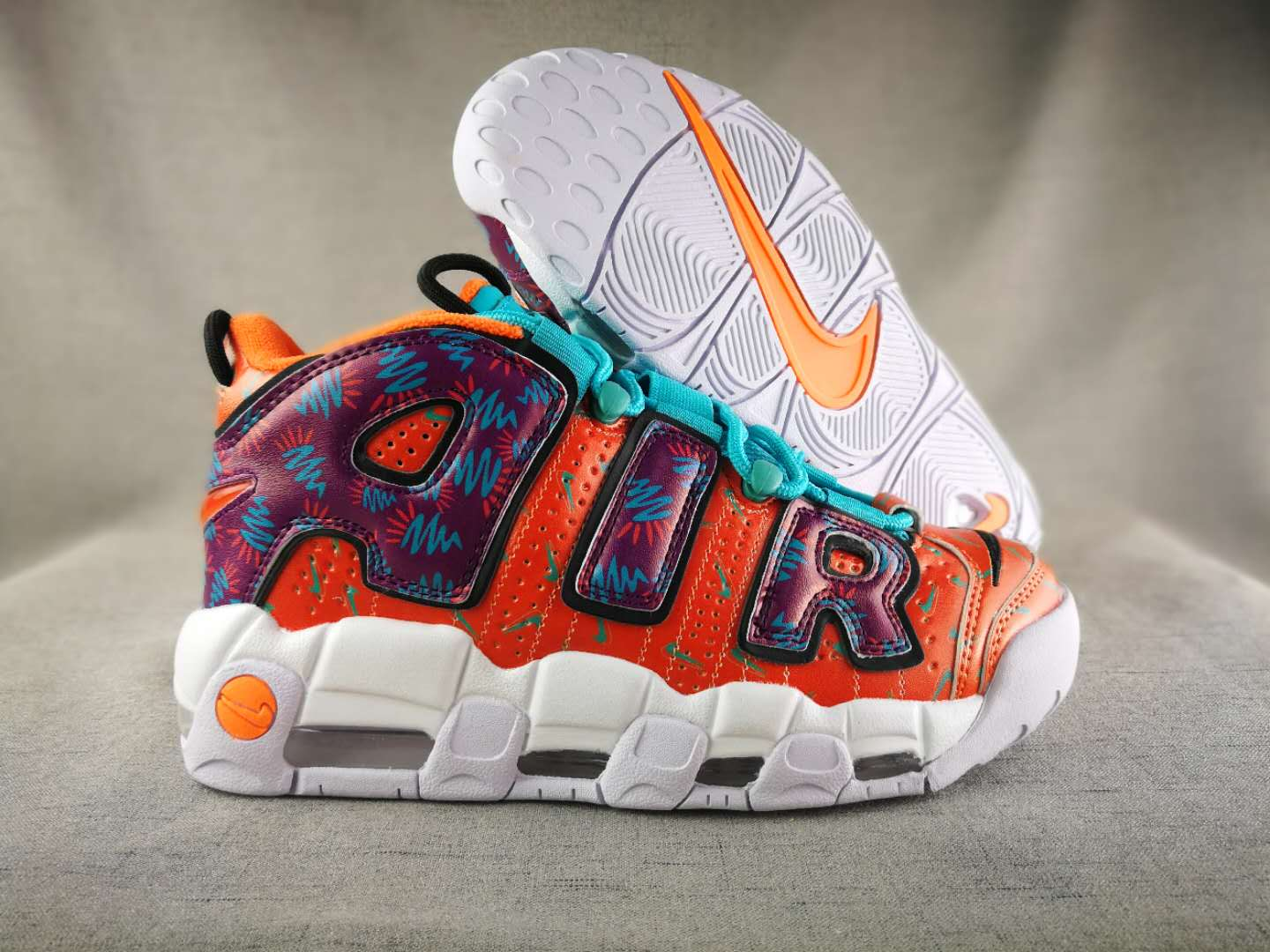 Air More Uptempo What The 90s (GS)-5
