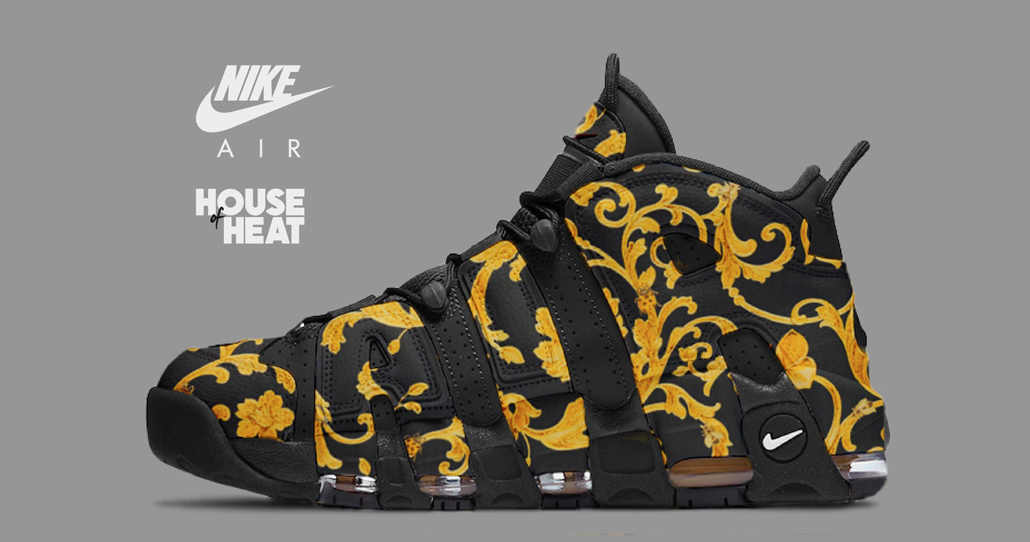 House of Heat Nike Air More Uptempo Versace