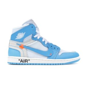 Купить кроссовки Jordan 1 Retro High Off-White University Blue
