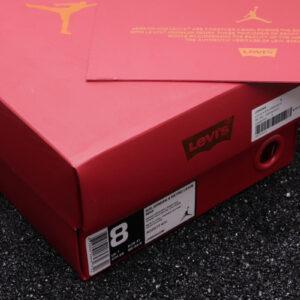 Купить кроссовки Jordan 4 Retro Levi's Denim оригинального качества