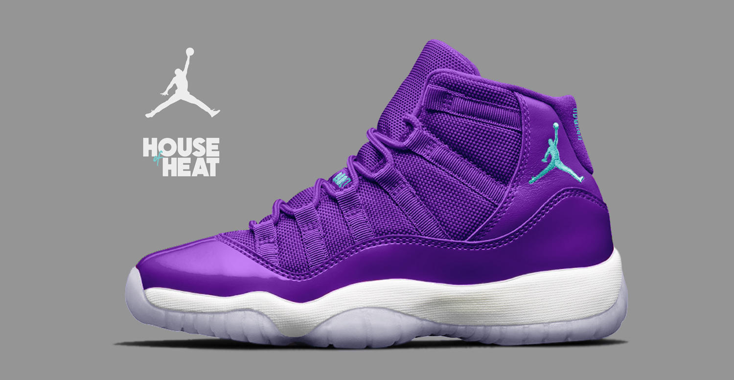 "Концепт Лаборатории House of Heat: Air Jordan 11 ""Hornets"""