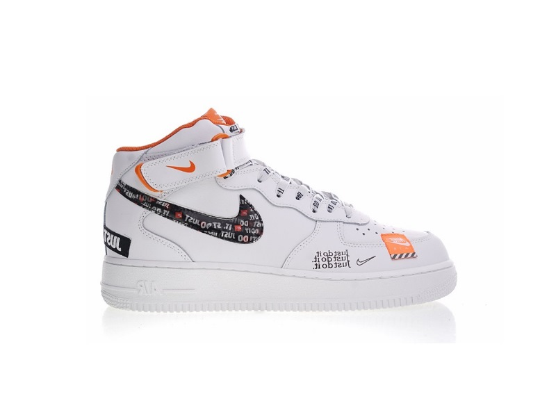 Air Force 1 07 Mid Just Do It Pack White Black