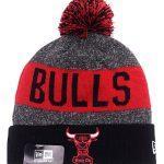 Купитьшапку Bulls Red & Black Knit Hat с бесплатной доставкой