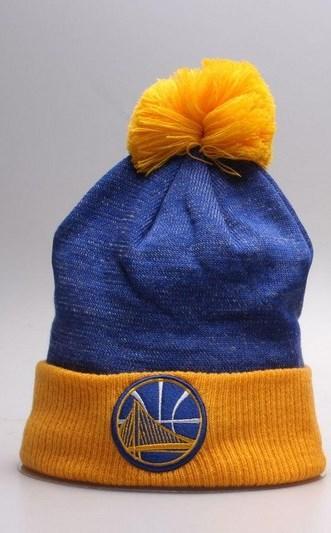 Warriors Mitchell & Ness Knit Hat-1
