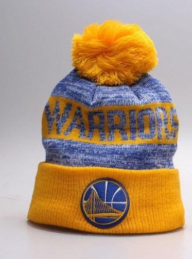 Warriors Mitchell & Ness Knit Hat 2018-1