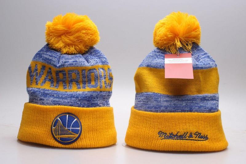 Warriors Mitchell & Ness Knit Hat 2018