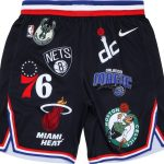Supreme Nike NBA Teams Authentic Short Black