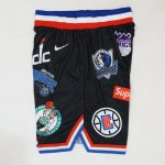 Supreme Nike NBA Teams Authentic Short Black-2