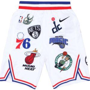 Купить шортыSupreme Nike NBA Teams Authentic Short White