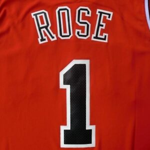 Chicago Bulls Derrick Rose adidas Red Replica Road Jersey