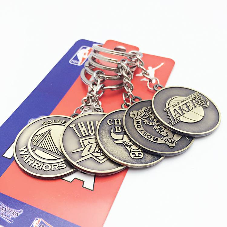 NBA Team Keychains-1