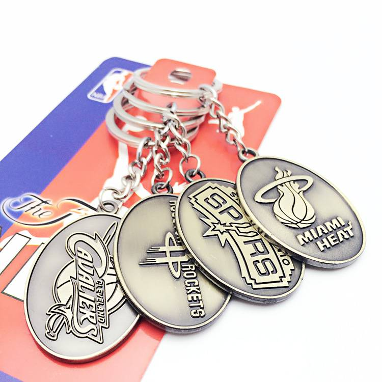 NBA Team Keychains-2
