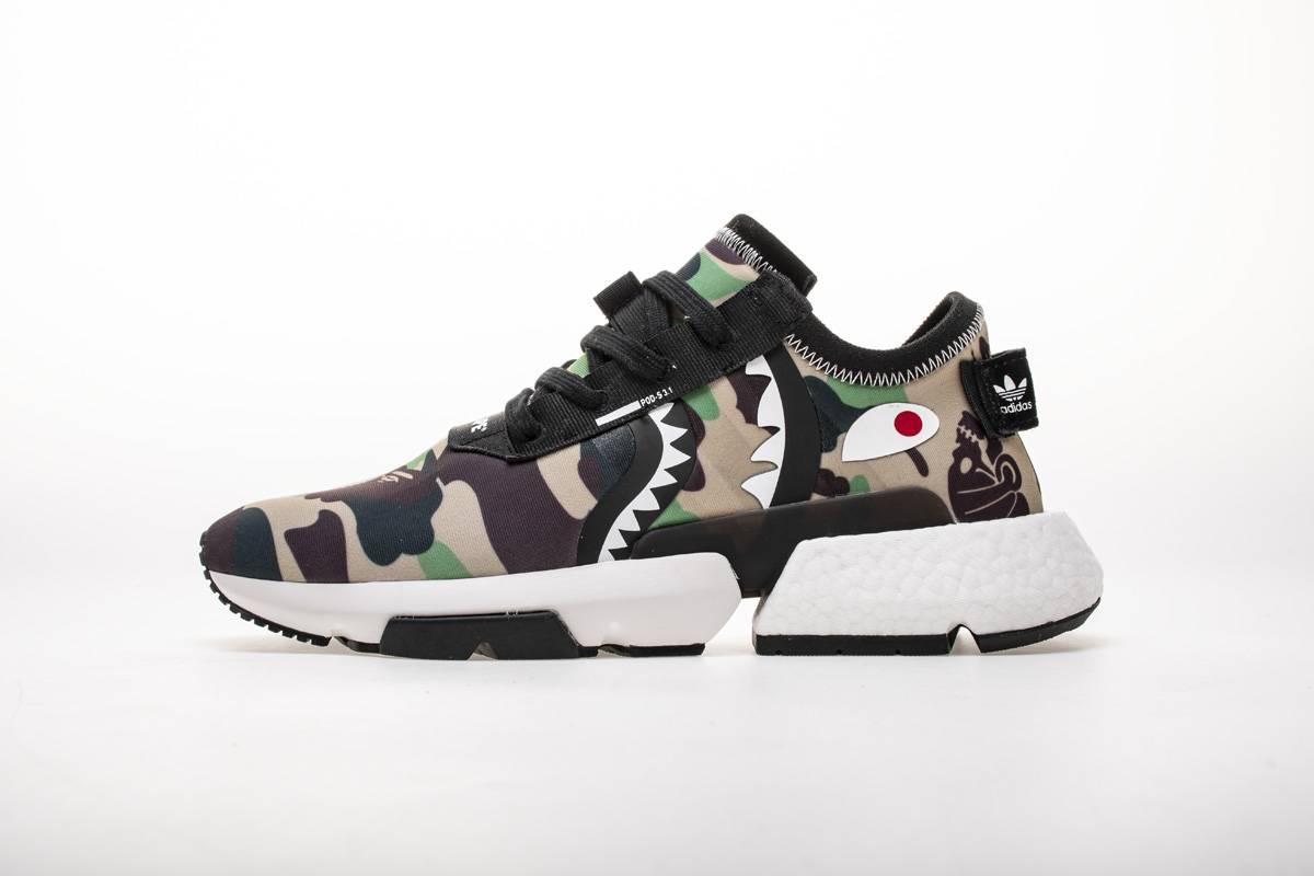 adidas POD S3.1 Bape x Neighborhood Camo-23