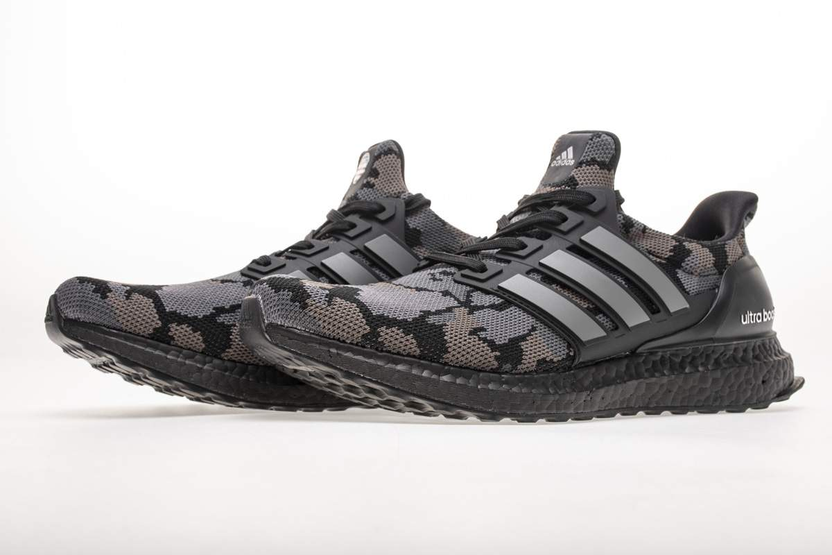 adidas Ultra Boost 4.0 Bape Camo Black-18