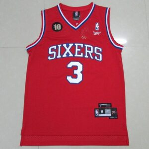 2015 Phila 76ers Iverson #3 Retro Reebok
