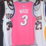 2018-19 Dwyane Wade Heat #3 Earned Pink-4