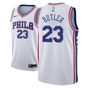 Заказать поиск джерси 2018-19 Butler 76ers #23 Association White