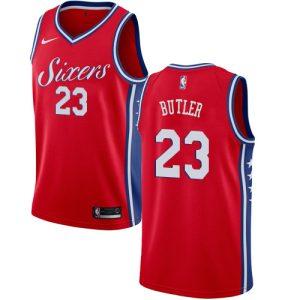 Заказать поиск джерси 2018-19 Jimmy Butler 76ers #23 Statement Red