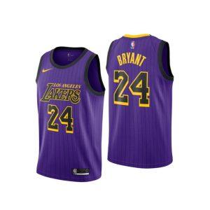 Заказать поиск джерси Los Angeles Lakers #24 Kobe Bryant Purple City