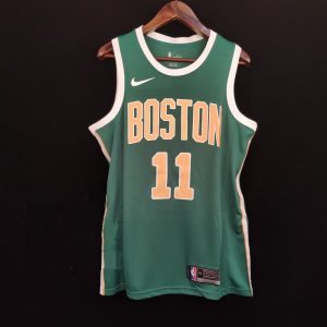 2018-19 Kyrie Irving Celtics #11 Earned Green