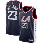 Заказать поиск джерси 2018-19 Lou Williams Clippers #23 City Navy