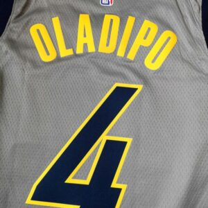 2018-19 Victor Oladipo Pacers #4 City Gray