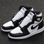 Air Jordan 1 Retro High OG BG Black White 2014 5