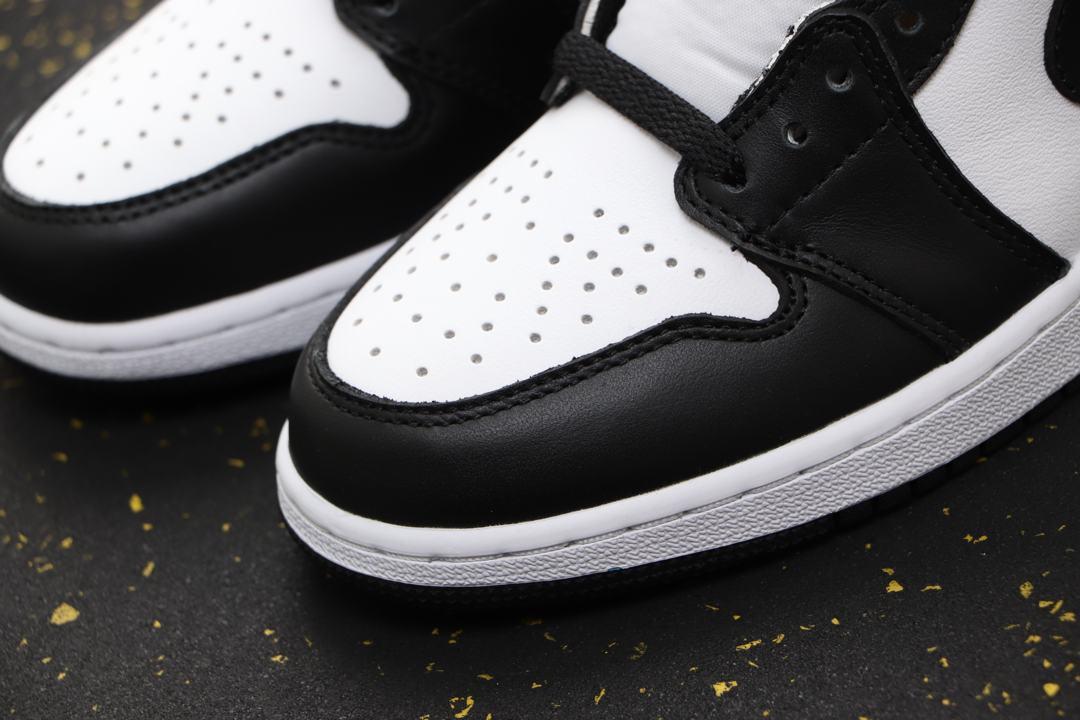 Air Jordan 1 Retro High OG BG Black White 2014 6