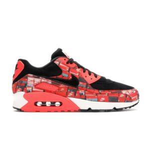 Заказать поиск кроссовок Air Max 90 Atmos We Love Nike (Bright Crimson)