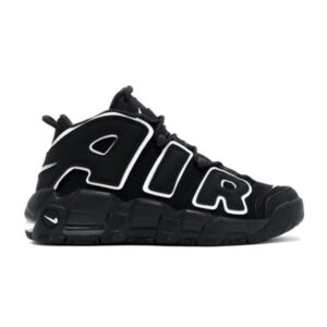Заказать поиск кроссовок Air More Uptempo Black White 2016 (GS)