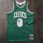 BAPE x Mitchell & Ness Celtics ABC Swingman Jersey Green-3