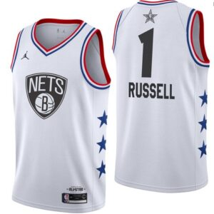 Заказать поиск джерси Brooklyn Nets #1 D'Angelo Russell 2019 All-Star Jersey