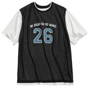 Заказать футболку Go Hard or Go Home 26 с бесплатной доставкой