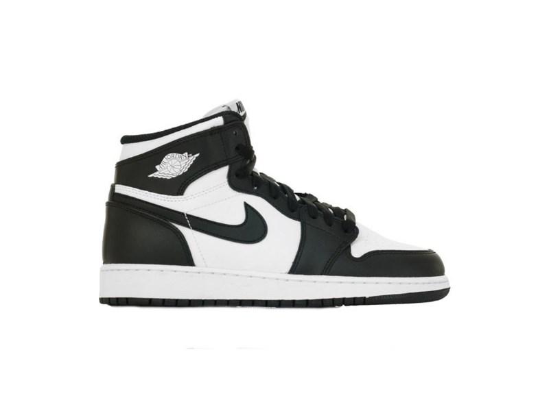 Jordan 1 Retro Black White (2014) (GS)