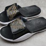 Jordan Hydro 7 Slide Black Gold-6