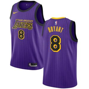 Заказать поиск джерси Los Angeles Lakers #8 Kobe Bryant Purple City