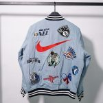 Supreme Nike NBA Teams Warm-Up Jacket Denim-16