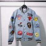 Supreme Nike NBA Teams Warm-Up Jacket Denim-17