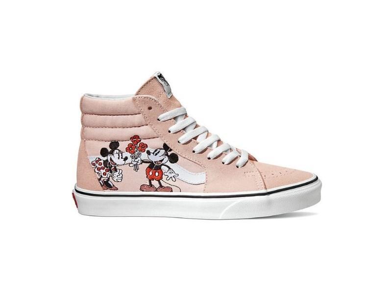 Заказать поиск кроссовок Vans Sk8-Hi Disney Mickey and Minnie