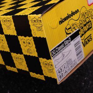 Заказать поиск слипонов Vans Slip-On Spongebob Yellow с бесплатной доставкой